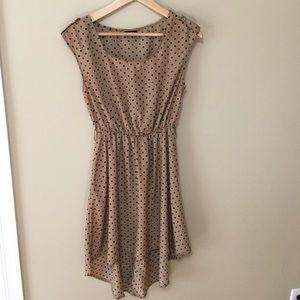 Rue21 Dresses - Polka dot high low dress